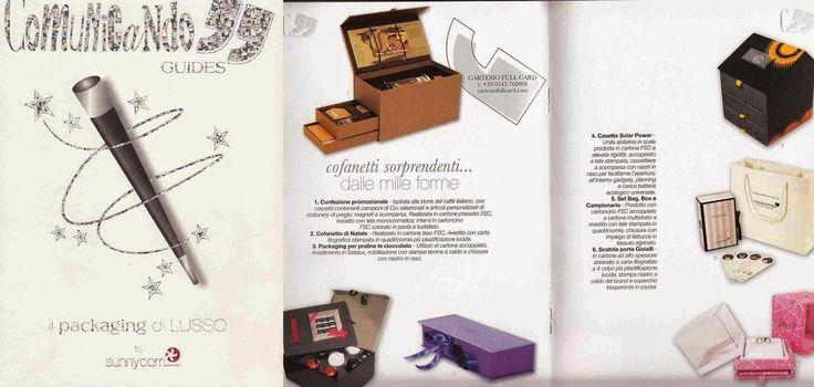 Pubblicazione sull'edizione speciale di Comunicando riguardante il packaging di lusso.
