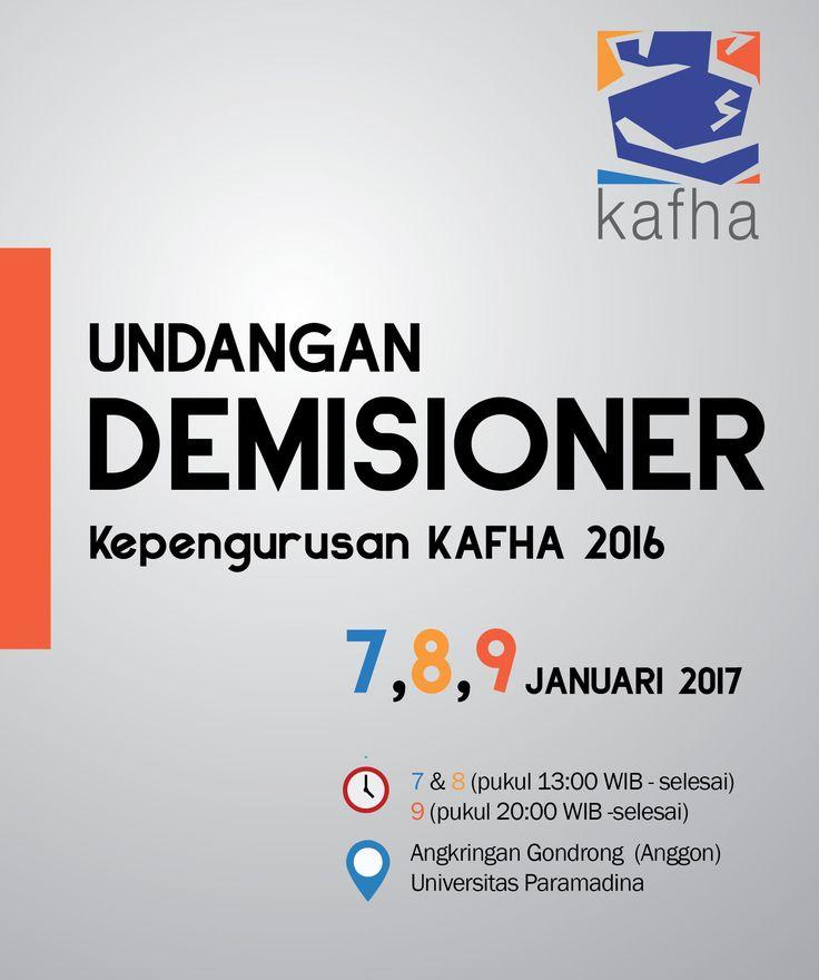 poster for demisioner