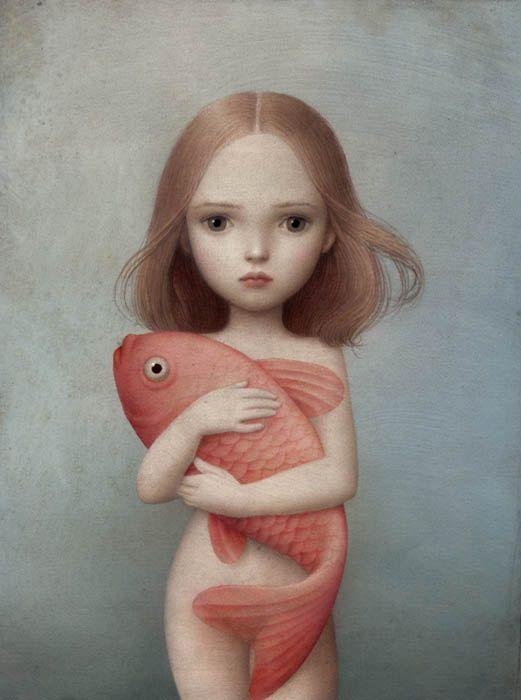 Lorelei:Adoro este dibujo,simple,vacío pero intenso,resulta extraño...eso es lo que le hace genial