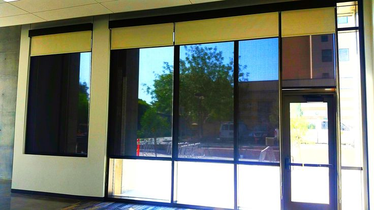 Hunter Douglas Rb500 Dual Roller Shades With Custom