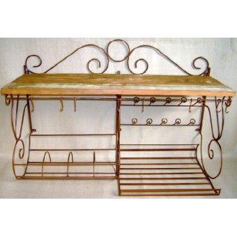 Peças rústicas : Paneleiro madeira de demolição e ferro