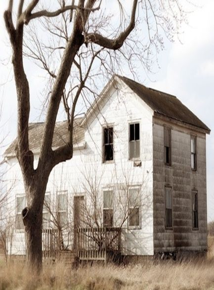 an old time house neglected that i can fix up myself how i like it!! love this one