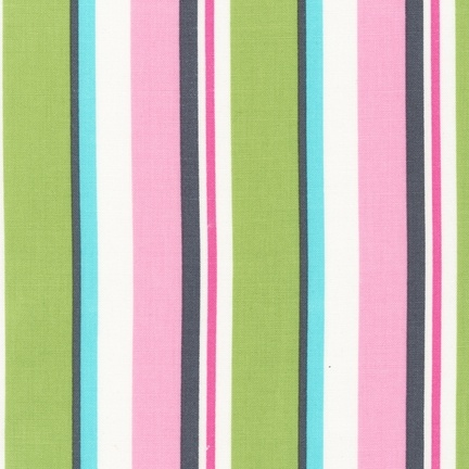 Organic Little One Stripe Pink