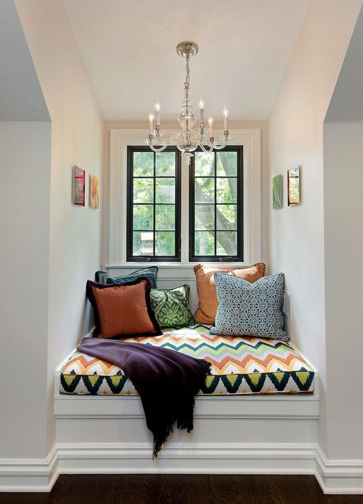 Cozy nooks found in Fantasy Dream Homes. | Bedroom window ...