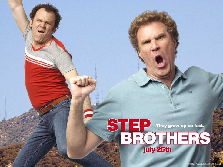 Stepbrothers is also one of my favorite movies and a great movie to watch when relaxing at the end of a long day of school or sports