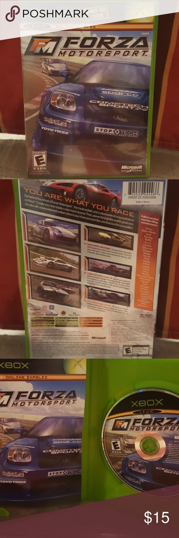 Xbox game fm forza motorsport