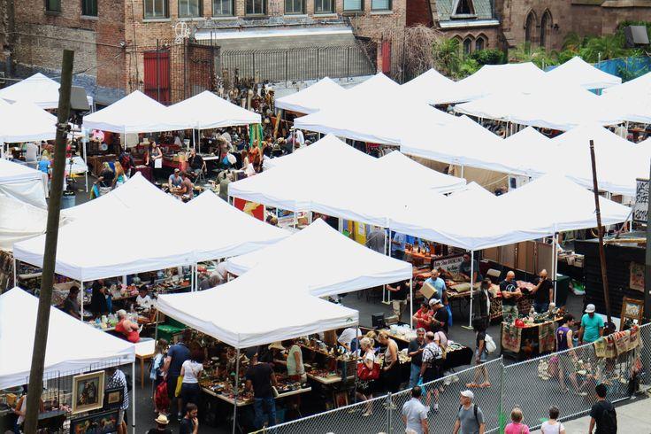 Loppemarked i New York
