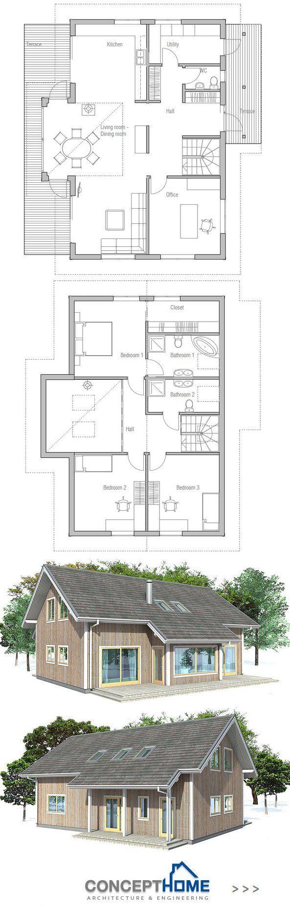 Dunklem holz mit interessanten rundungen gt stehlampe wohnzimmer modern - Small House Plan