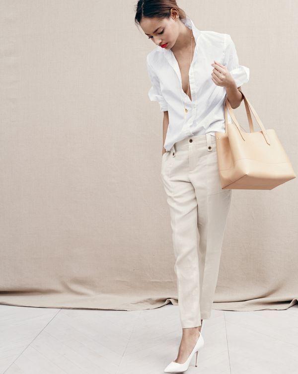9c3e9dae862f8 J.Crew women s linen garden pant in white or ecru