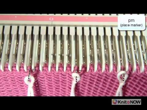 """This is a very useful video on how to covert Hand Knitting terms to Machine Knitting techiques by """"Knit It Now"""""""
