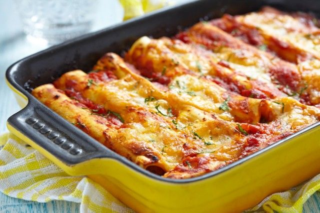 Unos canelones de carne para sorprender a todos ¡Riquísimos!   #Canelones #RecetasItalianas #Pasta #RecetasFáciles #CanelonesDeCarne