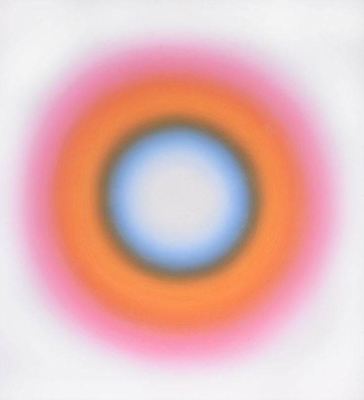 The impressive 'E 44' by Wojciech Fangor (1922-2015) at Dreweatt's Fine Paintings & Sculpture auction on 13th July 2016