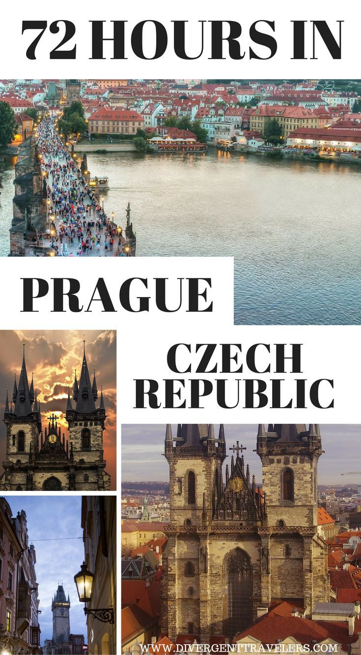 72 Hours In Prague, The Czech Republic. 3 Days in Prague – Things to do in Prague. In the past year, I have visited Prague at least half a dozen times, each time exploring a different nook of this charming and charismatic city. Click to read more at https://www.divergenttravelers.com/things-to-do-in-prague/