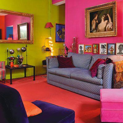 Eclectic, Bold and Bright #bright #bold #interior #design