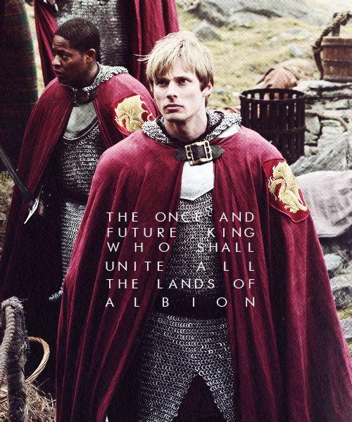 prince arthur #merlin.