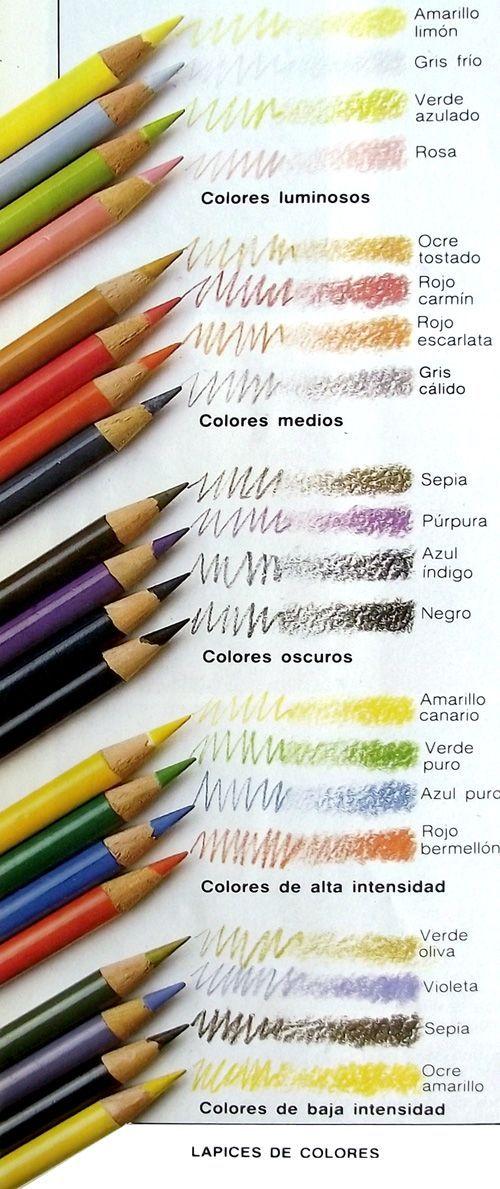 Lápices de colores:
