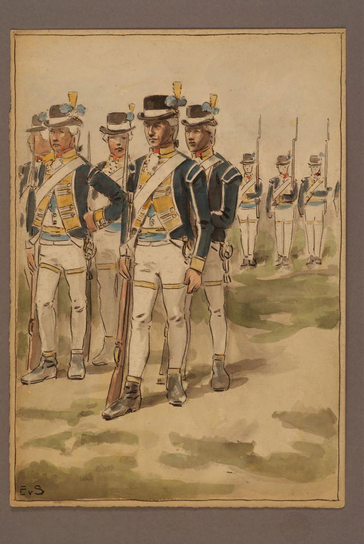 Regiment of Västmanland by Einar von Strokirch
