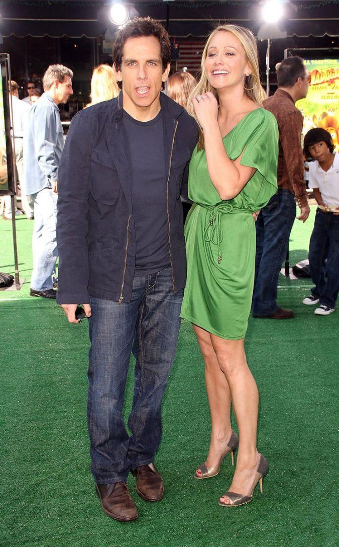 Ben Stiller and his wife   Ben Stiller   Pinterest