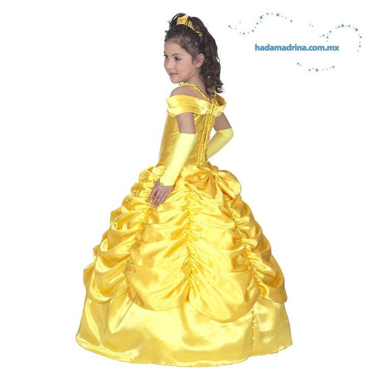 Vestido Princesa - Disfraz La Bella y La Bestia