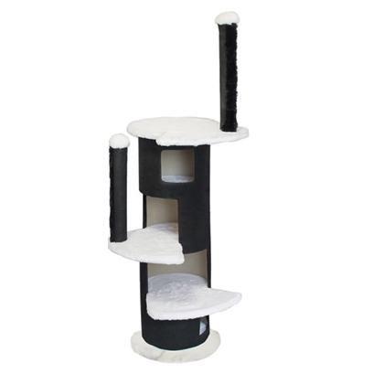 """Комплекс ЧИП 8375 """"Башня круглая"""" 5-ти уровневый, ковролин для кошек (55*55*148)"""