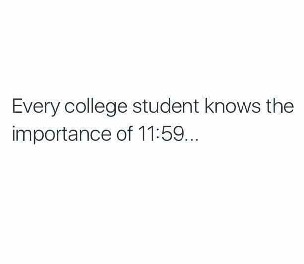 Haaa  (I'm taking college classes while in high school..so part of me is a college student already)