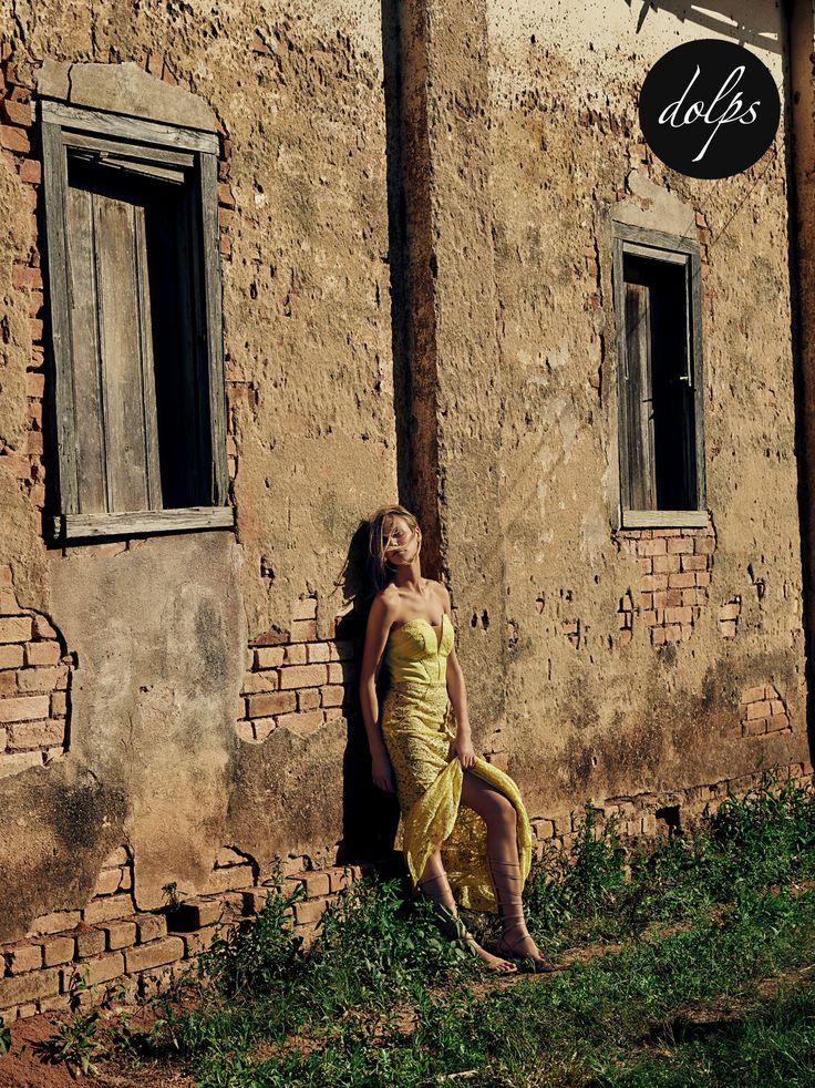 Renata Kuerten | Dolps vestido de festa - madrinha - formatura - amarelo
