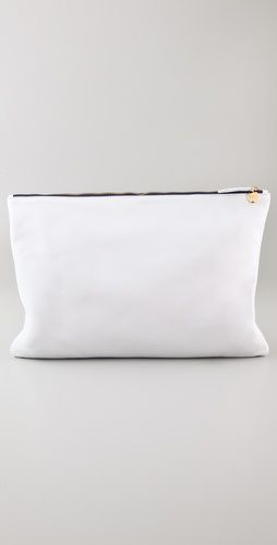 Clare Vivier Oversized Clutch.  Really like the simple, clean look.