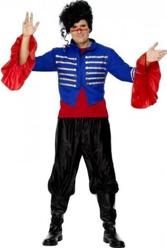 Disfraz de Cantante de los 80 adulto. 80's 100% www.leondisfraces.es