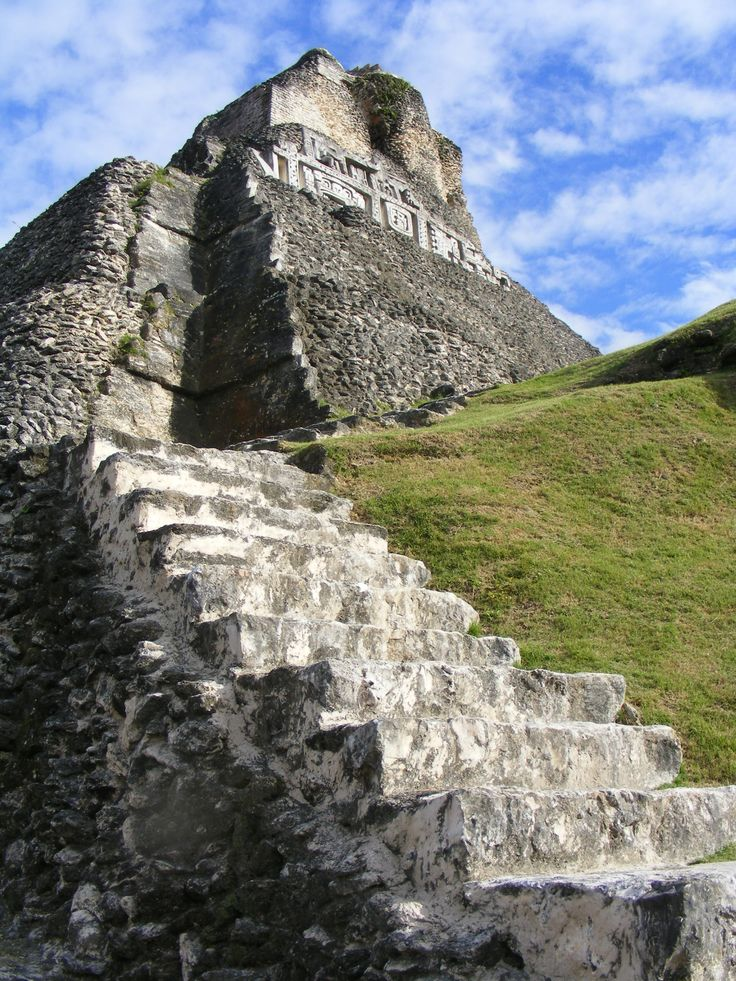 Xunantunich Maya Ruins Belize Central America