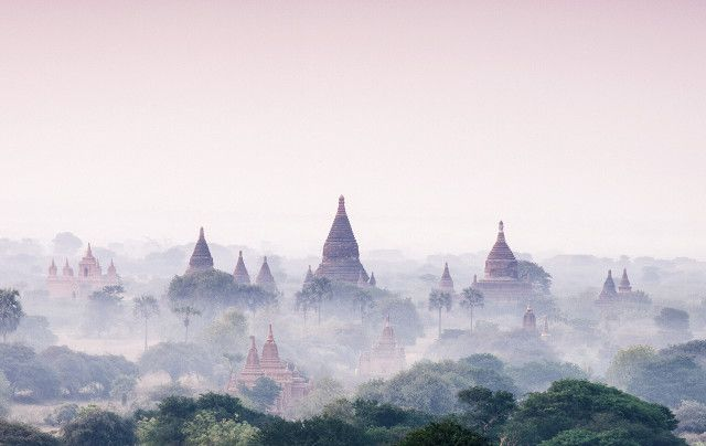 It's a scene out of a fairy tale: Huge hot-air balloons rise above ancient terra-cotta–hued temples and drift quietly through the morning breeze. Until recently, Myanmar might as well have...
