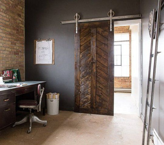 """Would be gorgeous to do something like this in the Warehouse section where the industrial space leads to the front entrance and """"sales floor"""" area."""