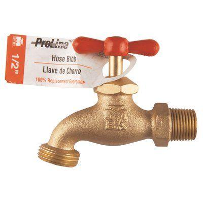 B&K Industries ProLine Brass Washing Machine Hose Bibb