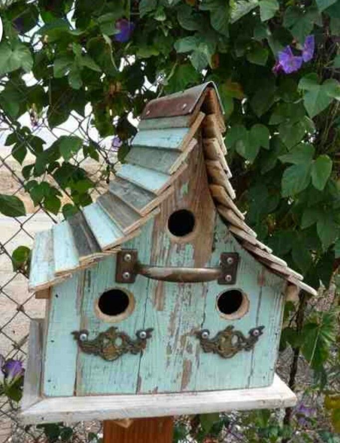 Birdhouses More 937 best Birdhouses images on