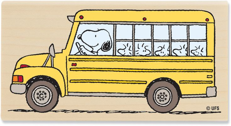 Snoopy the Bus Driver