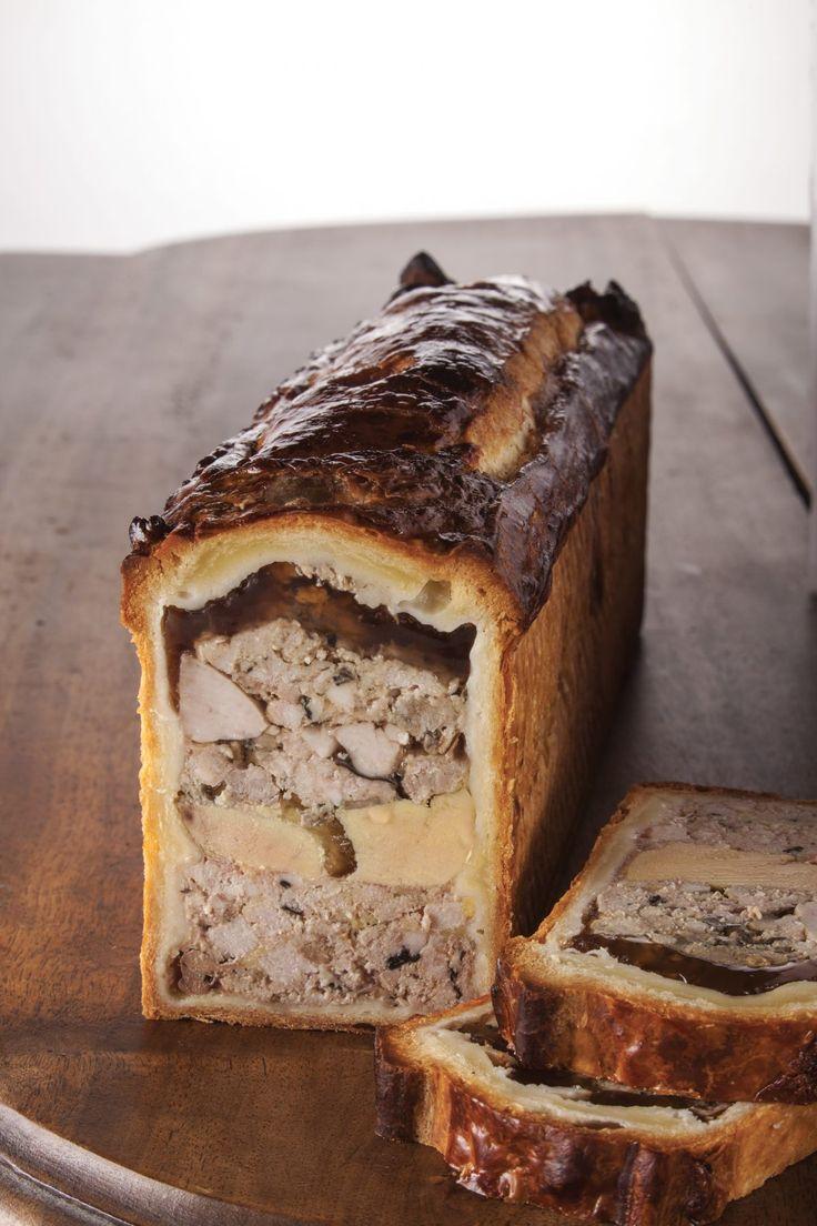 Pâté en croûte de foie gras de canard et ris de veau de lait  élu champion du monde 2009 par Joseph Viola