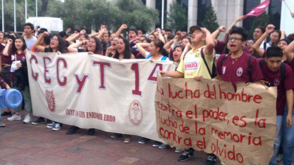 Amenaza de acción penal contra estudiantes paristas de Vocacionales (CECyTs) del IPN