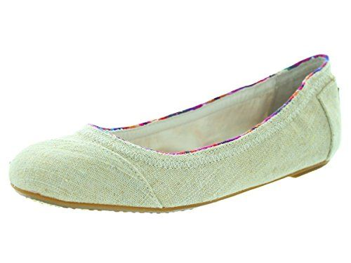 Toms Womens Ballet Flat Natural Casual Shoe 7 Women US ** You can find more details by visiting the image link.