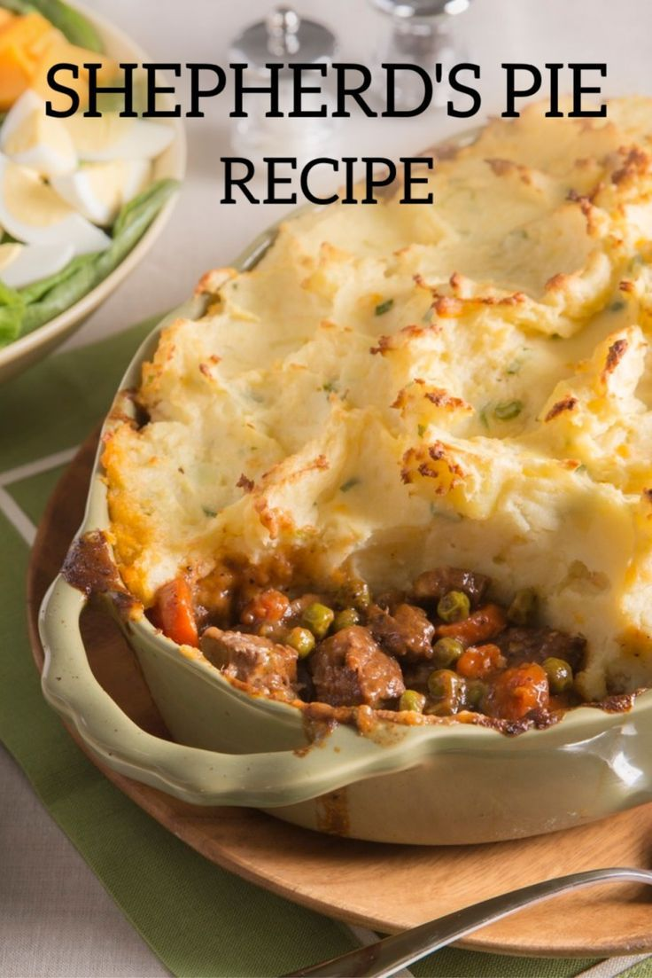Shepherd S Pie Recipe A Traditional St Patrick S Day Meal Idea Loaded With Beef Vegetables And In 2020 Shepherds Pie Recipe Shepherds Pie Hearty Dish