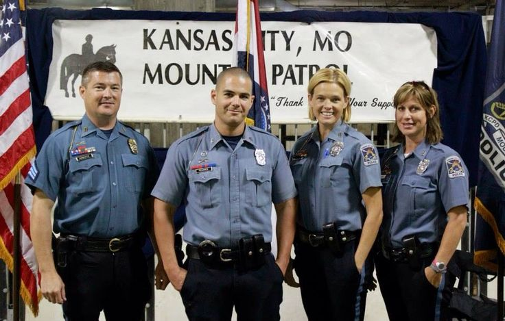 Members of The Mounted Patrol attended The Central States Saddle Bred Show at Hale Arena on July 26. The officers conducted the opening flag presentation for the event.