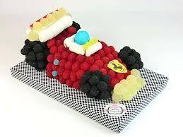 Resultado de imagen de imagenes tartas chuches con forma de coche