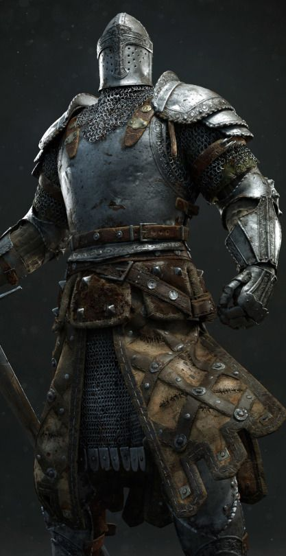 """For Honor cinematic: Knight - by Andrzej Marszalek """"Character done for """"For Honor"""" cinematic. My task was: texturing, shaders and sculpting tweaks. Sword, skinning/posing, hair and cloth simulations..."""