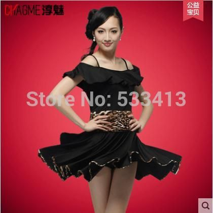 Latin dance costume Lotus belt sleeves latin dance dress for women latin dance milk silk exercise costume dress 4kinds fo colors