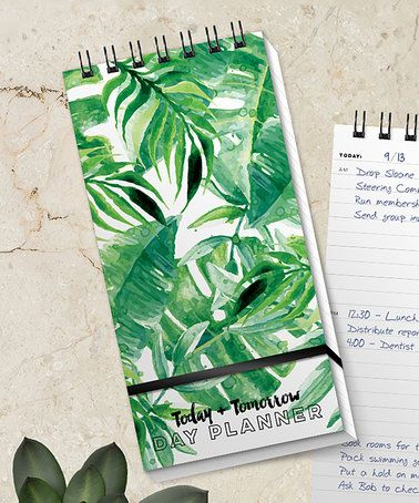 Love this Botanical Garden Today and Tomorrow Day Planner on #zulily! #zulilyfinds