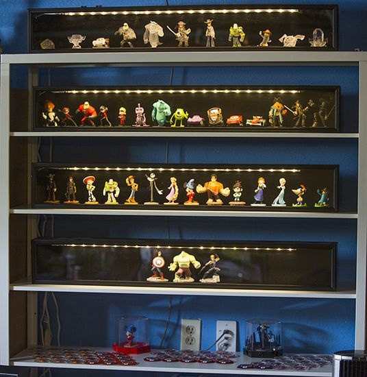 5d037b4cb Disney Infinity Collection display - Google Search | Disney Infinity ...