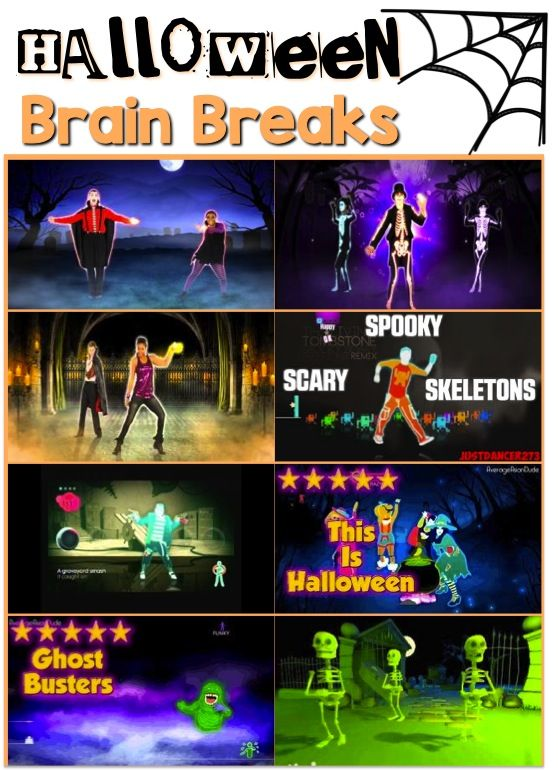 Try a fun Halloween-themed brain break this October!