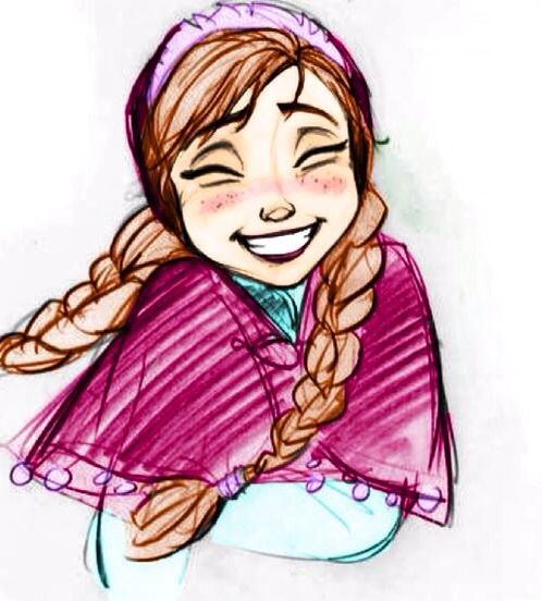 Look, I get that maybe three people like Anna better than Elsa? But I am totally one of them, and I regret nothing ♥♡♥♡