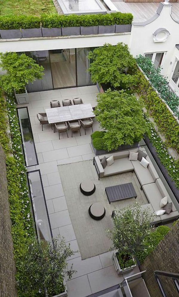 Terrassengarten – wunderschöne Gestaltungsideen! – Archzine.net