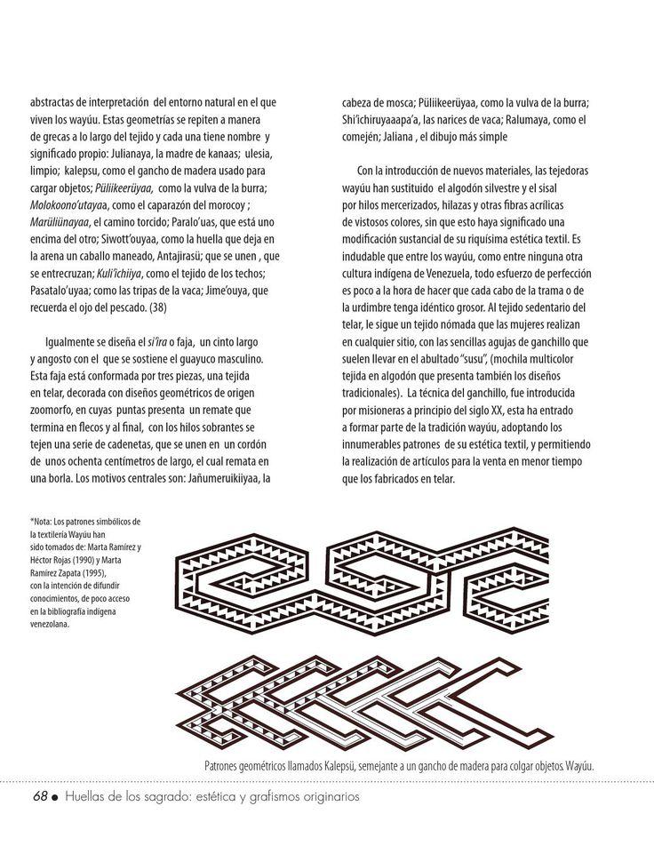 Recopilación sobre estudios relacionados con la estética y grafismo originarios de los pueblos indigenas en Venezuela