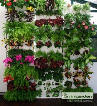 Trend great modular system for vertical herb and flower gardens for indoor u outdoor use