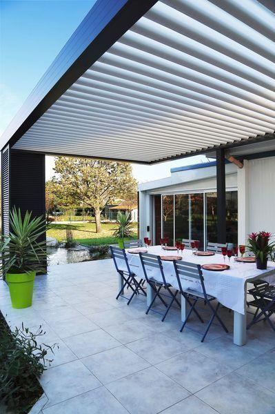 Pergola bioclimatique 10 modèles de pergolas pour terrasse et jardin